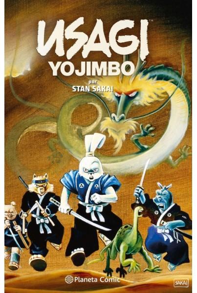 USAGI YOJIMBO FANTAGRAPHICS Nº01/02 (INTEGRAL)