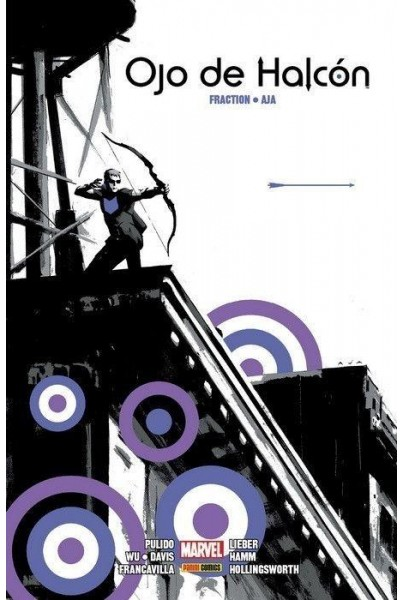 OJO DE HALCÓN DE MATT FRACTION Y DAVID AJA