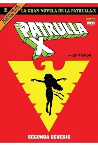 LA GRAN NOVELA DE LA PATRULLA-X 02: SEGUNDA GÉNESIS